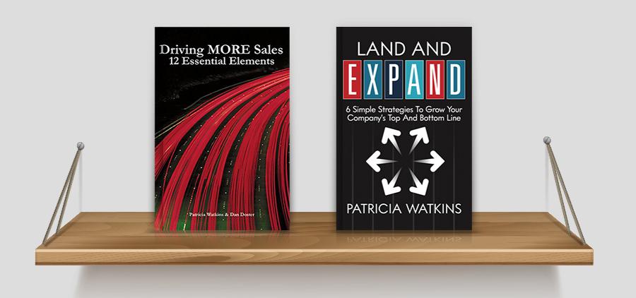 Patricia Watkins books on bookshelf_900x422